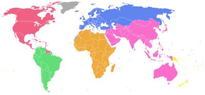 Confederaciones de fútbol